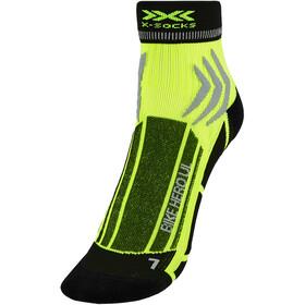 X-Socks Bike Hero UL Calze, verde/nero